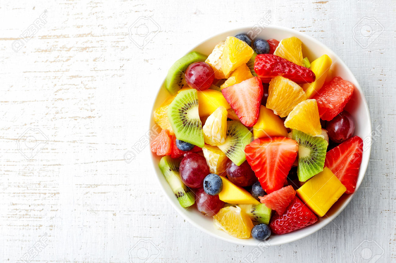 healthy and unhealthy fruits fruit bowls
